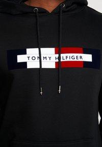 Tommy Hilfiger - LOGO HOODY - Hoodie - black - 5