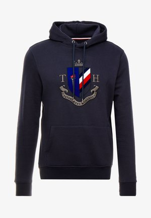 CREST ARTWORK HOODY - Huppari - blue