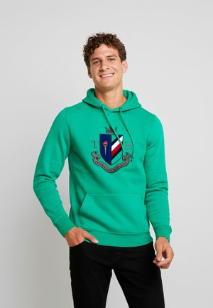 CREST ARTWORK HOODY - Huppari - green