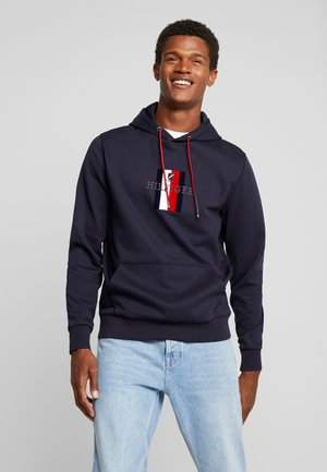 FLEX LUXURY ARTWORK HOODY - Hoodie - blue