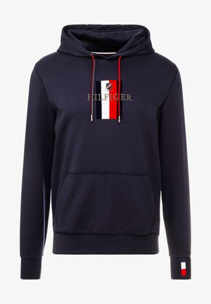 FLEX LUXURY ARTWORK HOODY - Huppari - blue