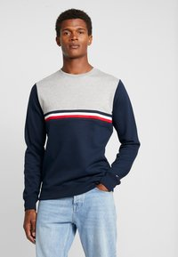 Tommy Hilfiger - COLORBLOCK - Collegepaita - blue - 0