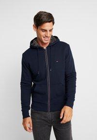 Tommy Hilfiger - BASIC LINED ZIP HOODY - veste en sweat zippée - blue - 0