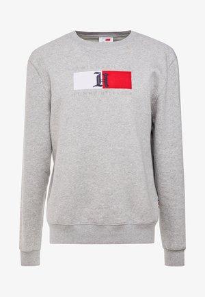 LEWIS HAMILTON FLAG LOGO CREW NECK - Sweatshirt - grey