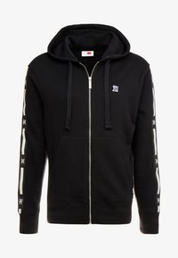Tommy Hilfiger - LEWIS HAMILTON LEECE SWEAT ZIP THRU - Mikina na zip - black - 4