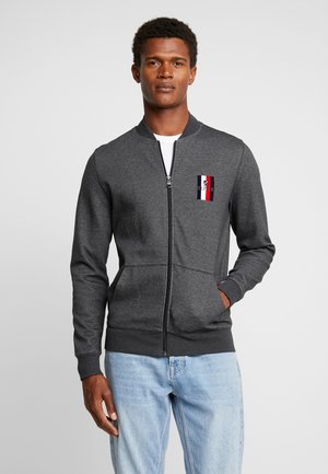 FLEX LUXURY ARTWORK BASEBALL ZIP - Mikina na zip - grey