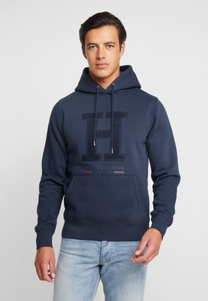 APPLIQUE ARTWORK HOODY - Hoodie - blue