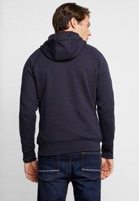 Tommy Hilfiger - MONOGRAM HOODED ZIP THROUGH - veste en sweat zippée - blue - 2