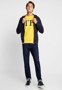 Tommy Hilfiger - MONOGRAM HOODED ZIP THROUGH - veste en sweat zippée - blue - 1