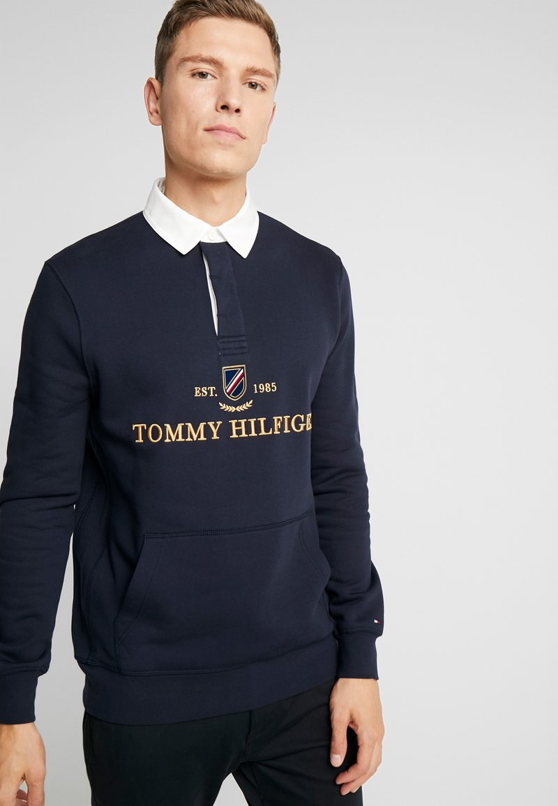 Tommy Hilfiger - ICON RUGBY - Sweatshirt - blue