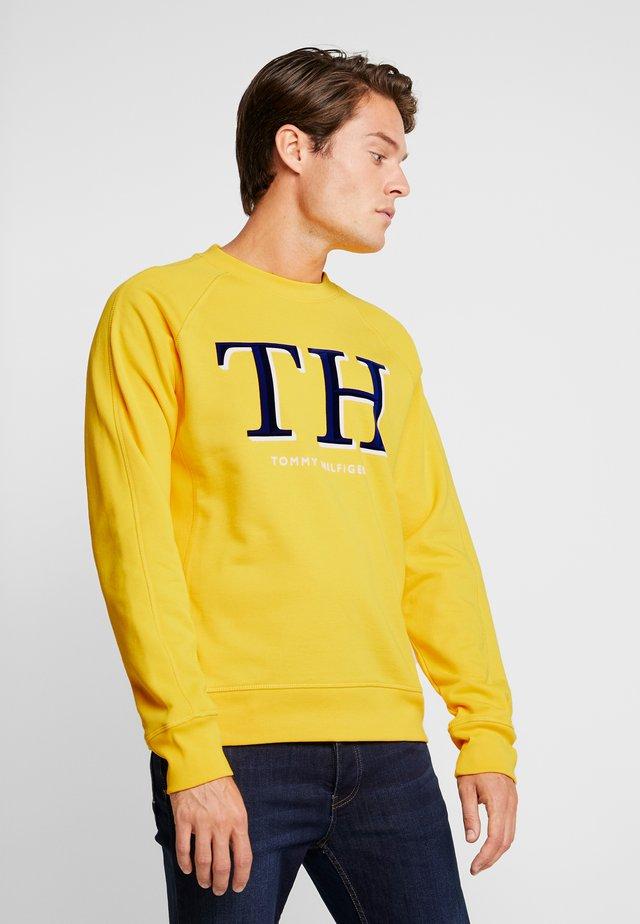 MONOGRAM - Sweatshirt - yellow
