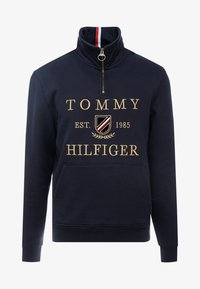 Tommy Hilfiger - ICON HALF ZIP MOCK NECK - Sweatshirt - blue - 3