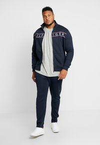 Tommy Hilfiger - LOGO ZIP THROUGH - Mikina na zip - blue - 1