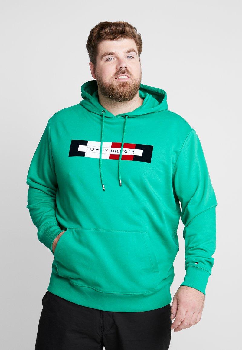 Tommy Hilfiger - LOGO HOOD - Jersey con capucha - green