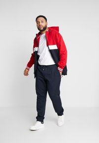Tommy Hilfiger - COLORBLOCKD HOODED ZIP - Hettejakke - red - 1