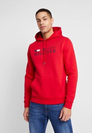 BASIC HOODY - Hoodie - red