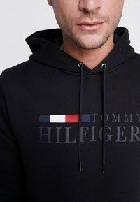 Tommy Hilfiger - BASIC HOODY - Huppari - black - 5