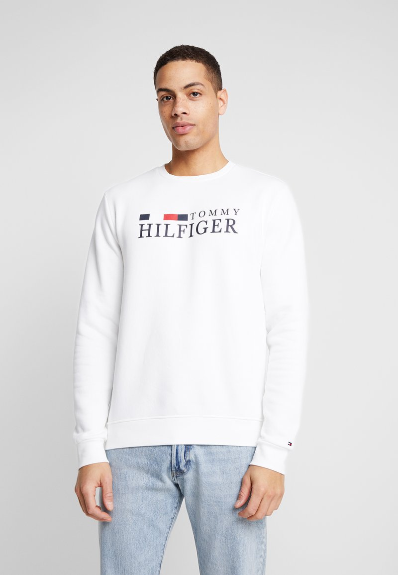 Tommy Hilfiger - BASIC - Mikina - white
