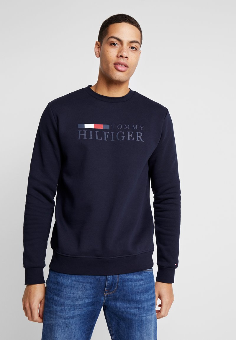Tommy Hilfiger - BASIC - Mikina - blue