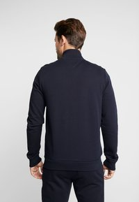 Tommy Hilfiger - FLOCKED ZIP THROUGH - Mikina na zip - blue - 2
