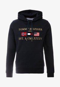 Tommy Hilfiger - MULTI FLAG - Hoodie - blue - 4
