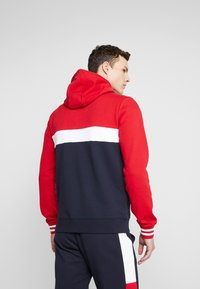 Tommy Hilfiger - COLORBLOCKED HOODED ZIP THROUGH - Mikina na zip - red - 2