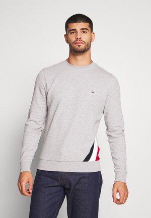 DIAGONAL  SWEATSHIRT - Sweatshirt - grey