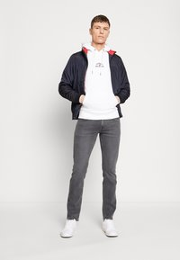 Tommy Hilfiger - BASIC EMBROIDERED HOODY - Hoodie - white - 1