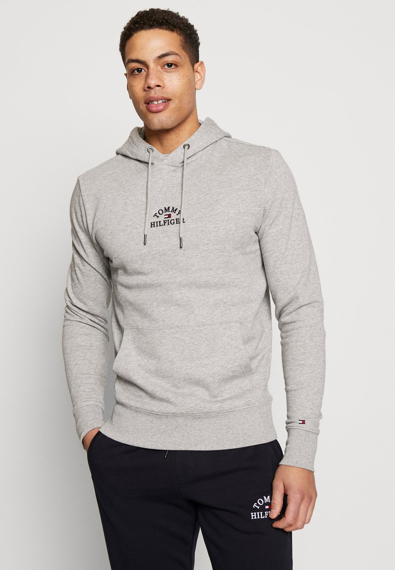 Tommy Hilfiger - BASIC EMBROIDERED HOODY - Hoodie - grey