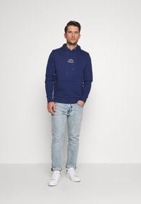 Tommy Hilfiger - BASIC EMBROIDERED HOODY - Hoodie - blue - 1