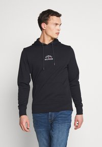 Tommy Hilfiger - BASIC EMBROIDERED HOODY - Hoodie - blue - 0