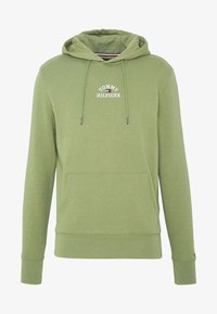Tommy Hilfiger - BASIC EMBROIDERED HOODY - Hoodie - green - 4