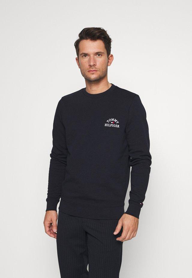 BASIC EMBROIDERED - Sweatshirt - blue