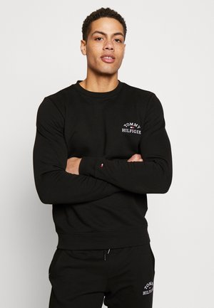BASIC EMBROIDERED - Collegepaita - black