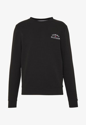 BASIC EMBROIDERED - Sweater - black