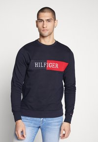 Tommy Hilfiger - INTARSIA - Sweater - blue - 4
