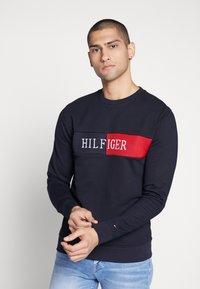 Tommy Hilfiger - INTARSIA - Sweater - blue - 2