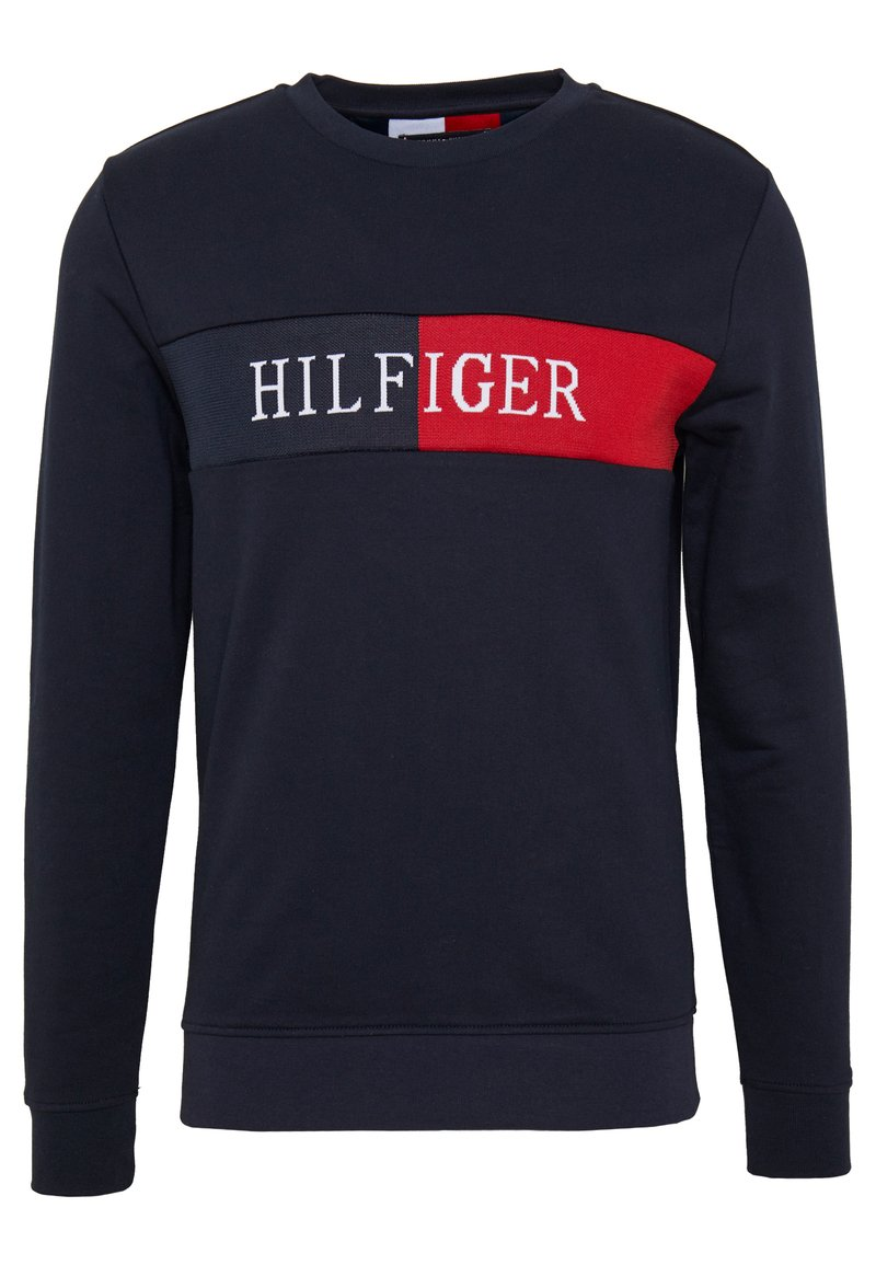 Tommy Hilfiger - INTARSIA - Sweater - blue