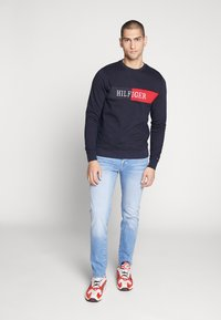 Tommy Hilfiger - INTARSIA - Sweater - blue - 1