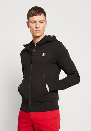 MODERN ESSENTIALS  ZIP HOODY - Sweatjacke - black