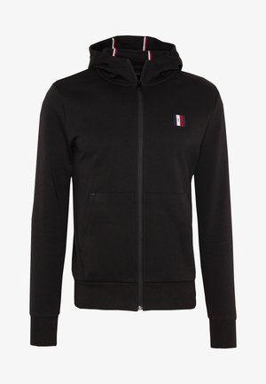 MODERN ESSENTIALS  ZIP HOODY - Hettejakke - black