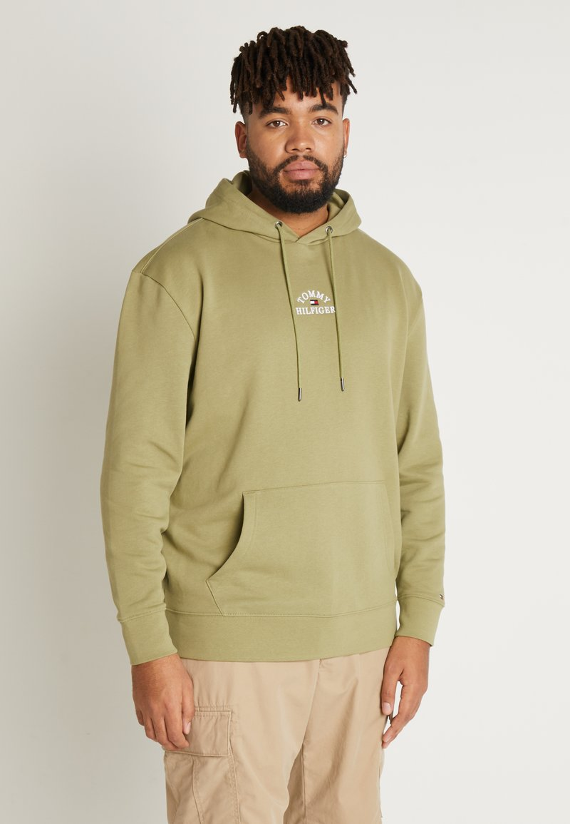Tommy Hilfiger - BASIC EMBROIDERED HOODY - Hoodie - green