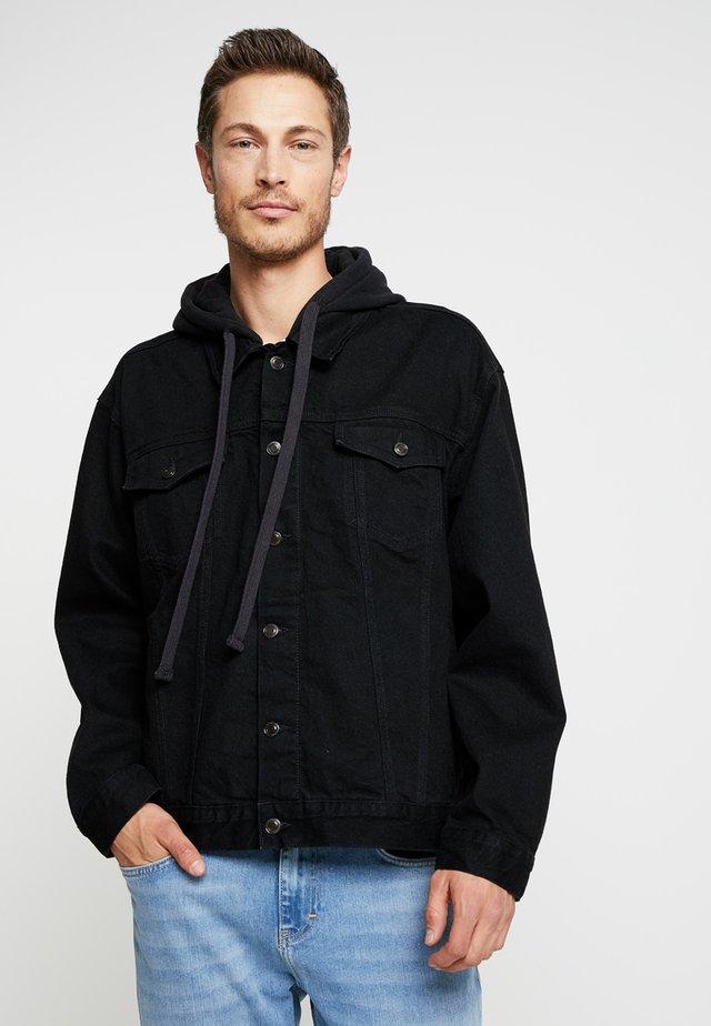 LEWIS HAMILTON OVERSIZED - Summer jacket - black