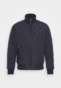Tommy Hilfiger - DIAMOND QUILTED BOMBER - Light jacket - blue - 4