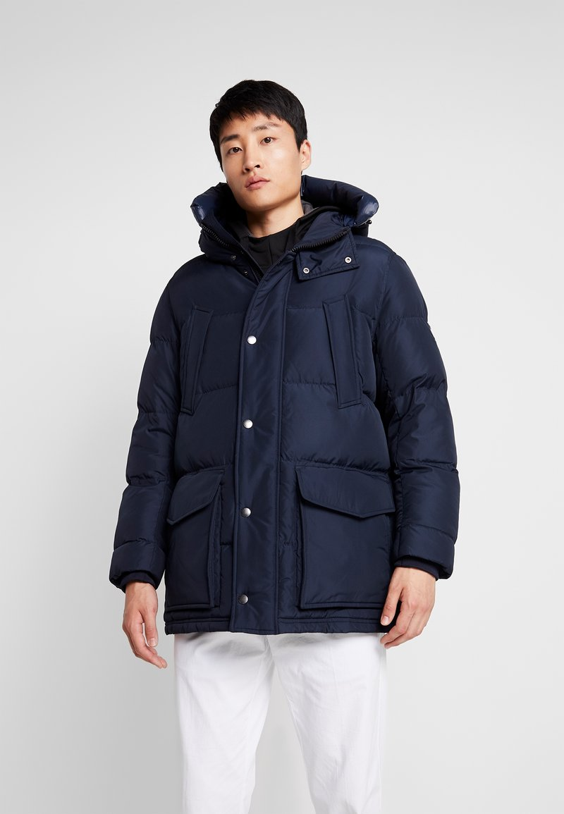 Tommy Hilfiger - HOODED - Down coat - blue