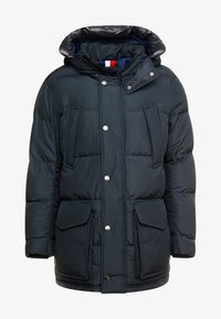 Tommy Hilfiger - HOODED - Daunenmantel - black - 6