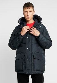 Tommy Hilfiger - HOODED - Piumino - black - 0