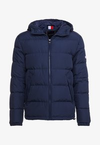 Tommy Hilfiger - HOODED REDOWN BOMBER - Piumino - blue - 5