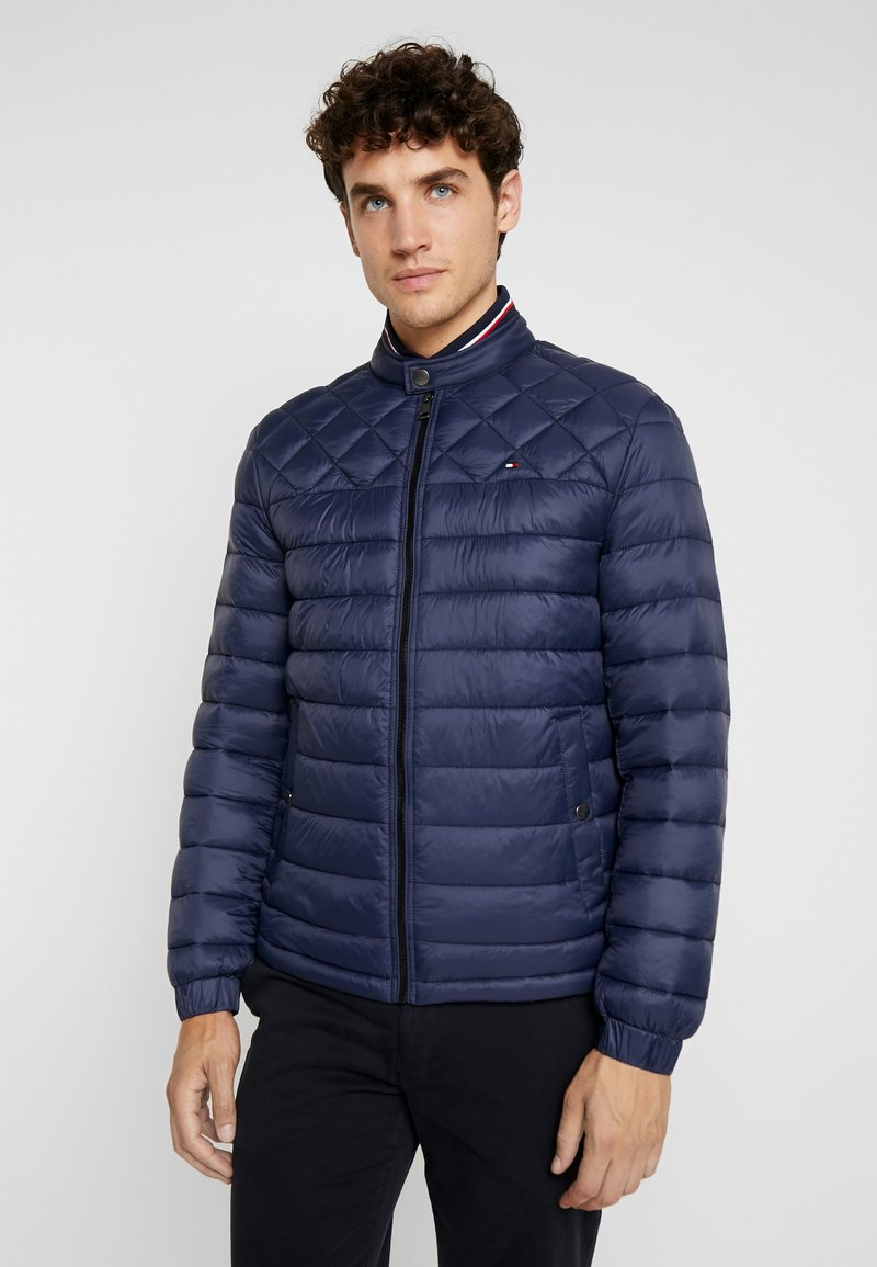 Tommy Hilfiger - LIGHT WEIGHT PADDED - Välikausitakki - blue
