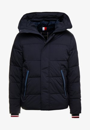 STRETCH HOODED - Winterjas - blue